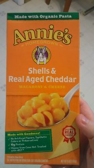 Photo of Annie's® Homegrown Organic Alfredo Shells & Cheddar uploaded by Amanda K.