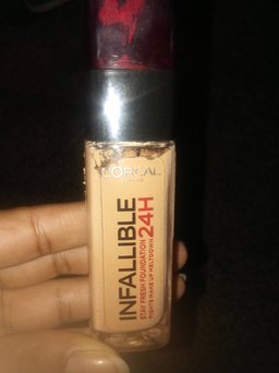 L'Oreal Paris Loreal Infallible Stay Fresh Foundation 24h uploaded by Kareli S.