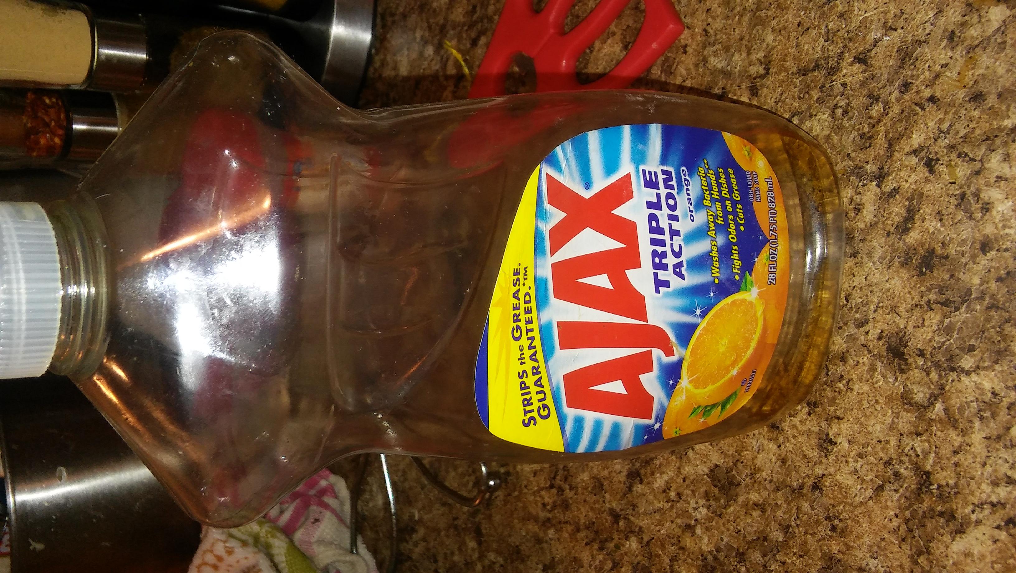 Ajax Triple Action Dish Liquid Soap uploaded by Jemille B.