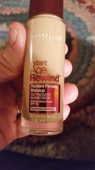 Maybelline Instant Age Rewind® Radiant Firming Makeup uploaded by Nancy W.