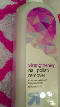 Up & up Strengthening Nail Polish Remover uploaded by Rose G.