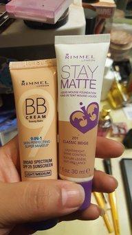 (6 Pack) RIMMEL LONDON BB Cream 9-IN-1 Skin Perfection Super Makeup - Light uploaded by cris E.