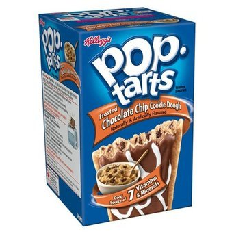 Kellogg's Pop-Tarts Frosted Chocolate Chip Cookie Dough Toaster Pastries uploaded by Marjan S.