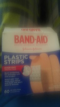 Photo of 7 Pack Band-Aid Adhesive Bandages Plastic All One Size, 60 sterile Bandages Each uploaded by VERONICA C.