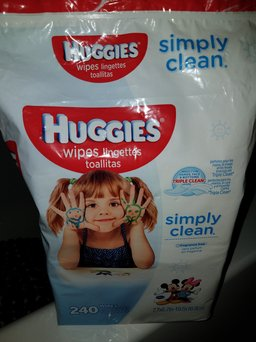 Huggies® Simply Clean Baby Wipes uploaded by Rebecca P.