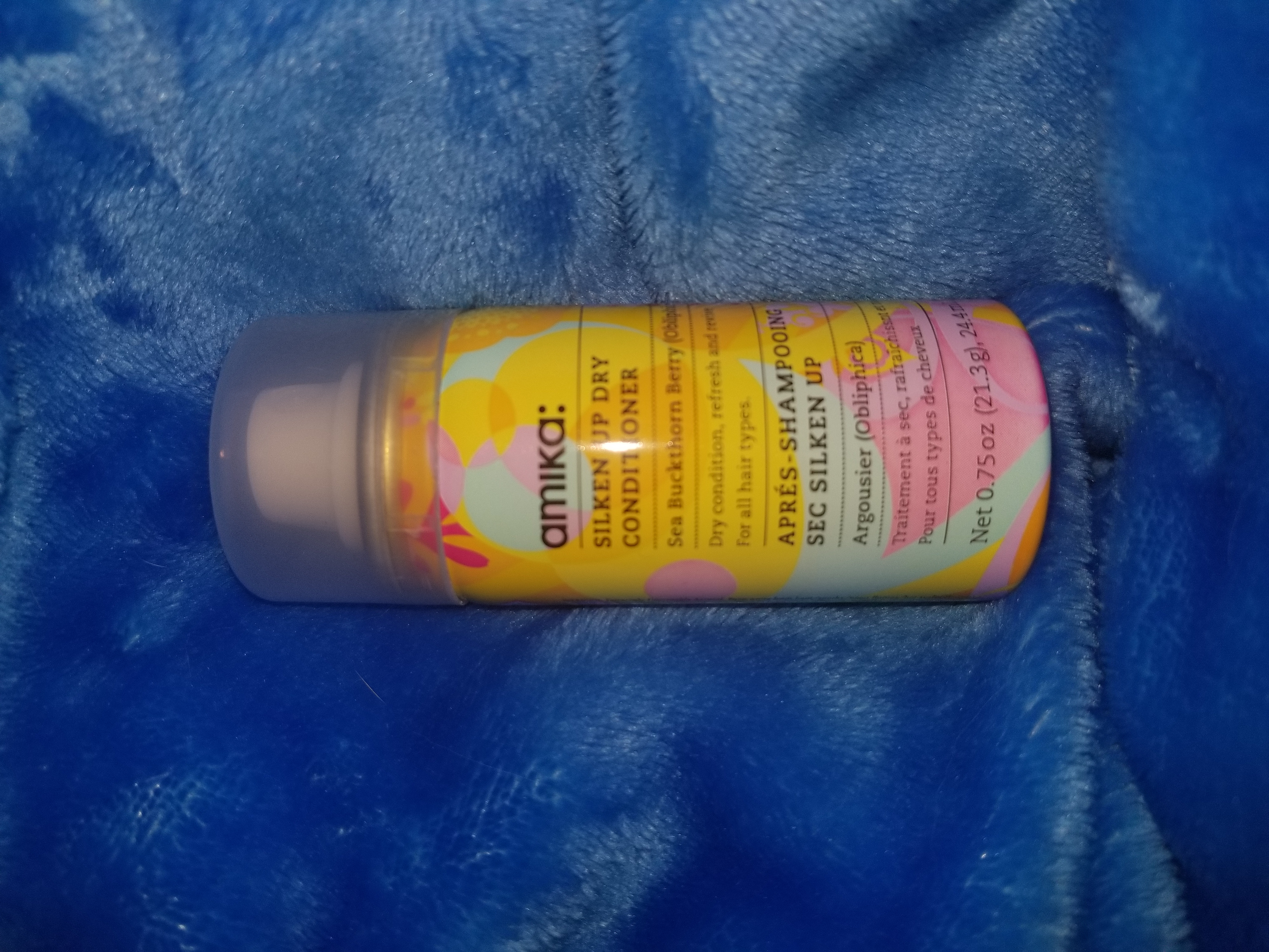 amika Silken Up Dry Conditioner - 1 oz. uploaded by Leah B.