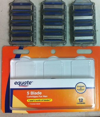 Photo of Equate™ 5 Blade Cartridges with Trimmer 4 pc. Box uploaded by Yonier C.