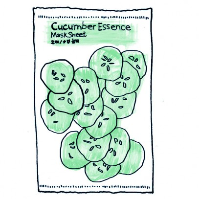 Holika Holika Cucumber Essence Mask Sheet