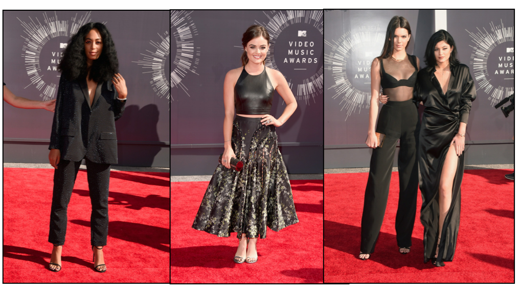 VMAs 2014 Kylie and Kendall Jenner