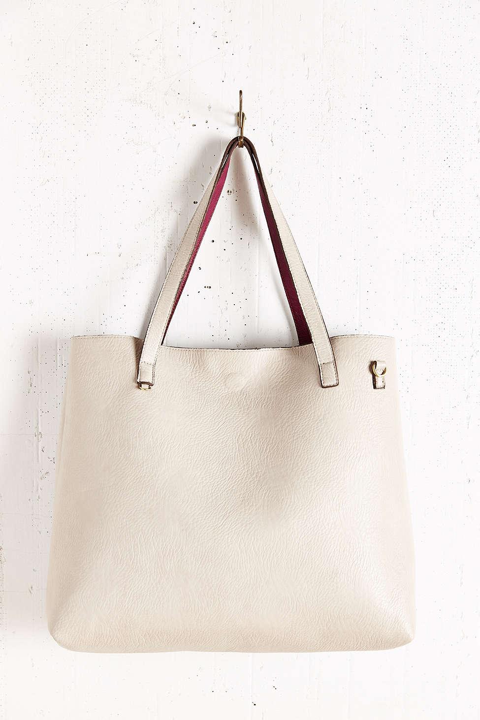 Urban Outfitters Reversible Vegan Overside Tote Bag