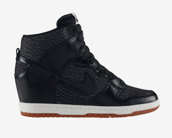 Nike SkyHigh Dunks Black