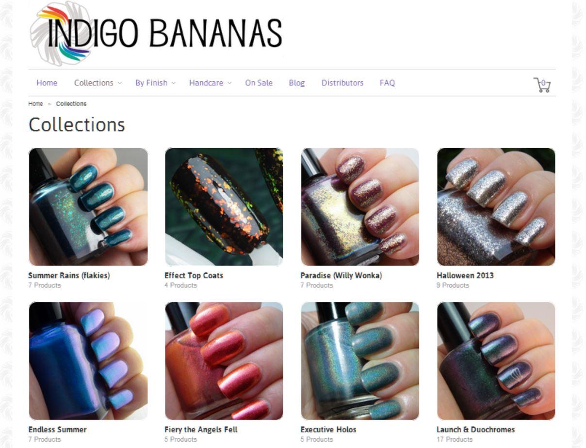 Indigo Bananas