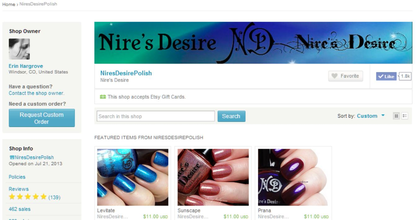 Nire's Desire
