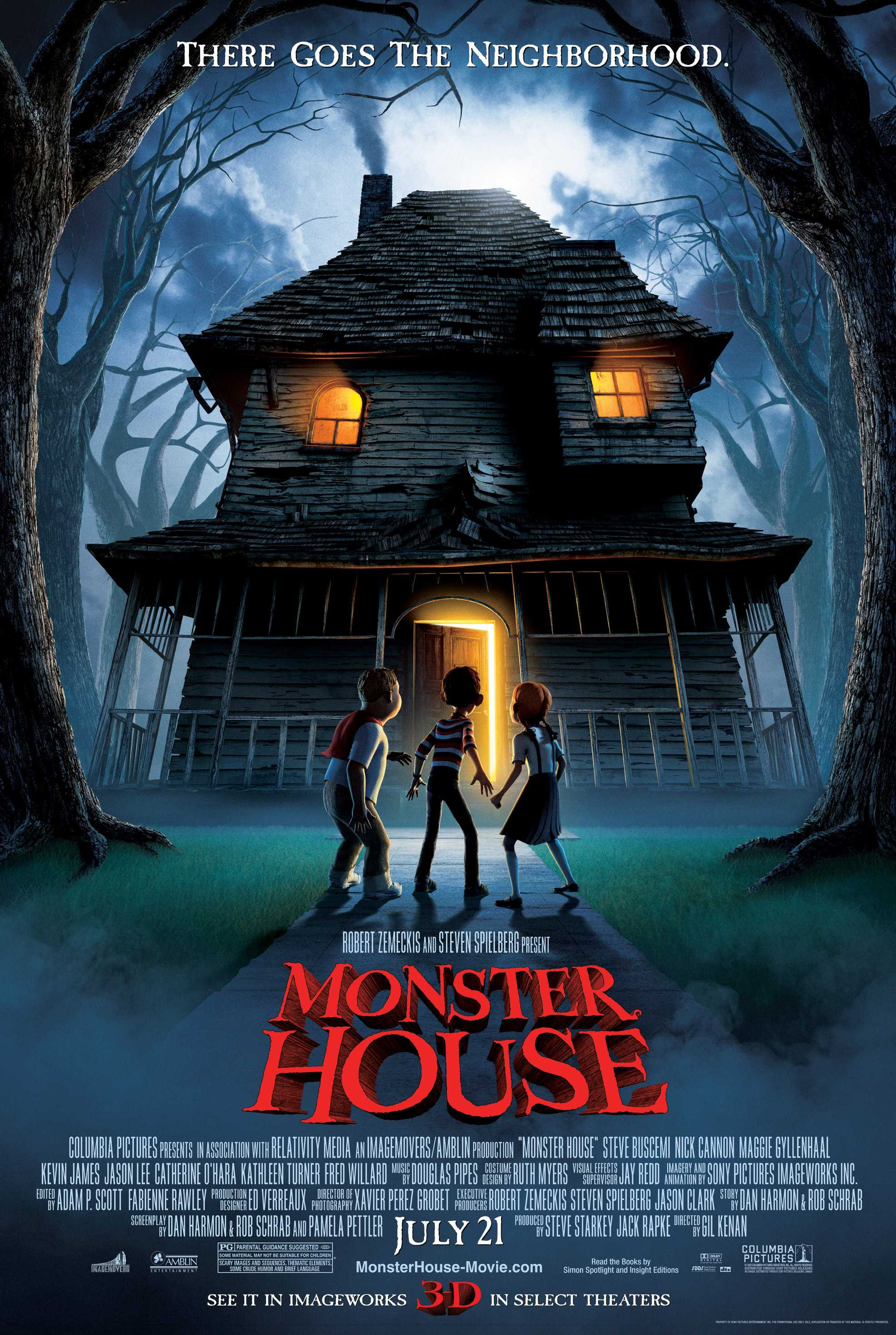 monster house - Top 10 Scary Halloween Movies