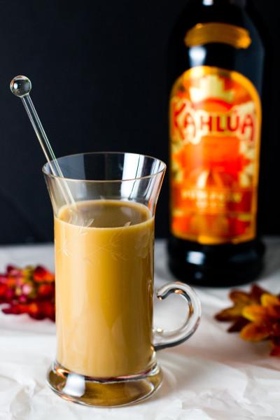 kahlua pumpkin spice hazelnut coffee