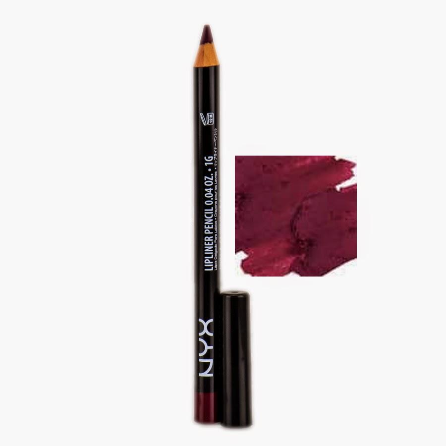 Nyx Slim Lip Pencil Deep Purple