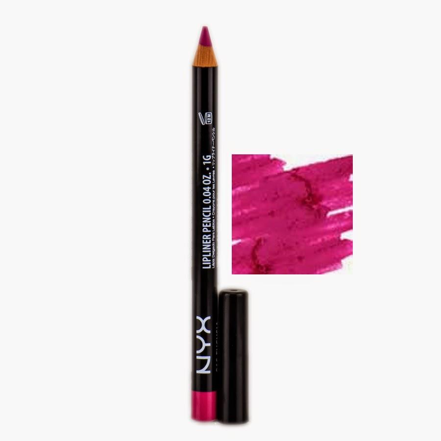 Nyx Slim Lip Pencil Fuschia