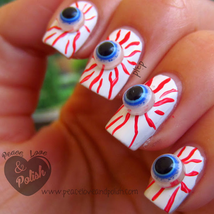 Bloodshot Eye Manicure