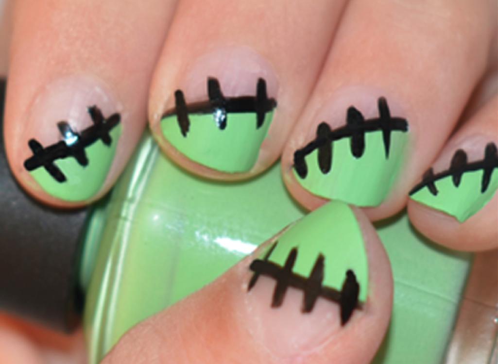 Frankenstein Manicure