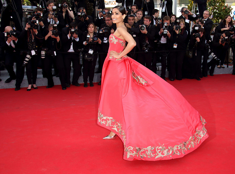 Lea Michele Oscar de la Renta