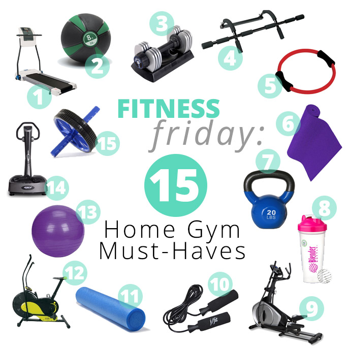 At home gym must haves influenster