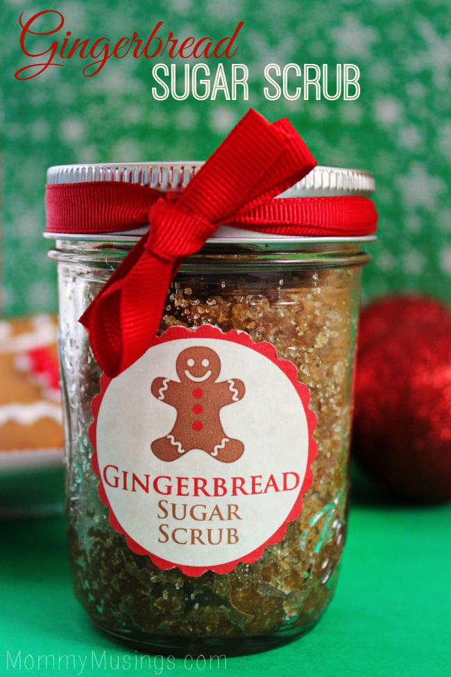 DIY Homemade Gingerbread Scrub