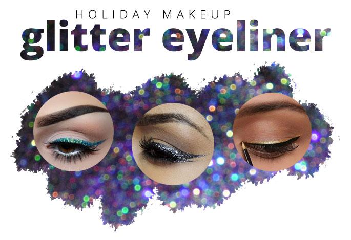 glitter makeup DIY