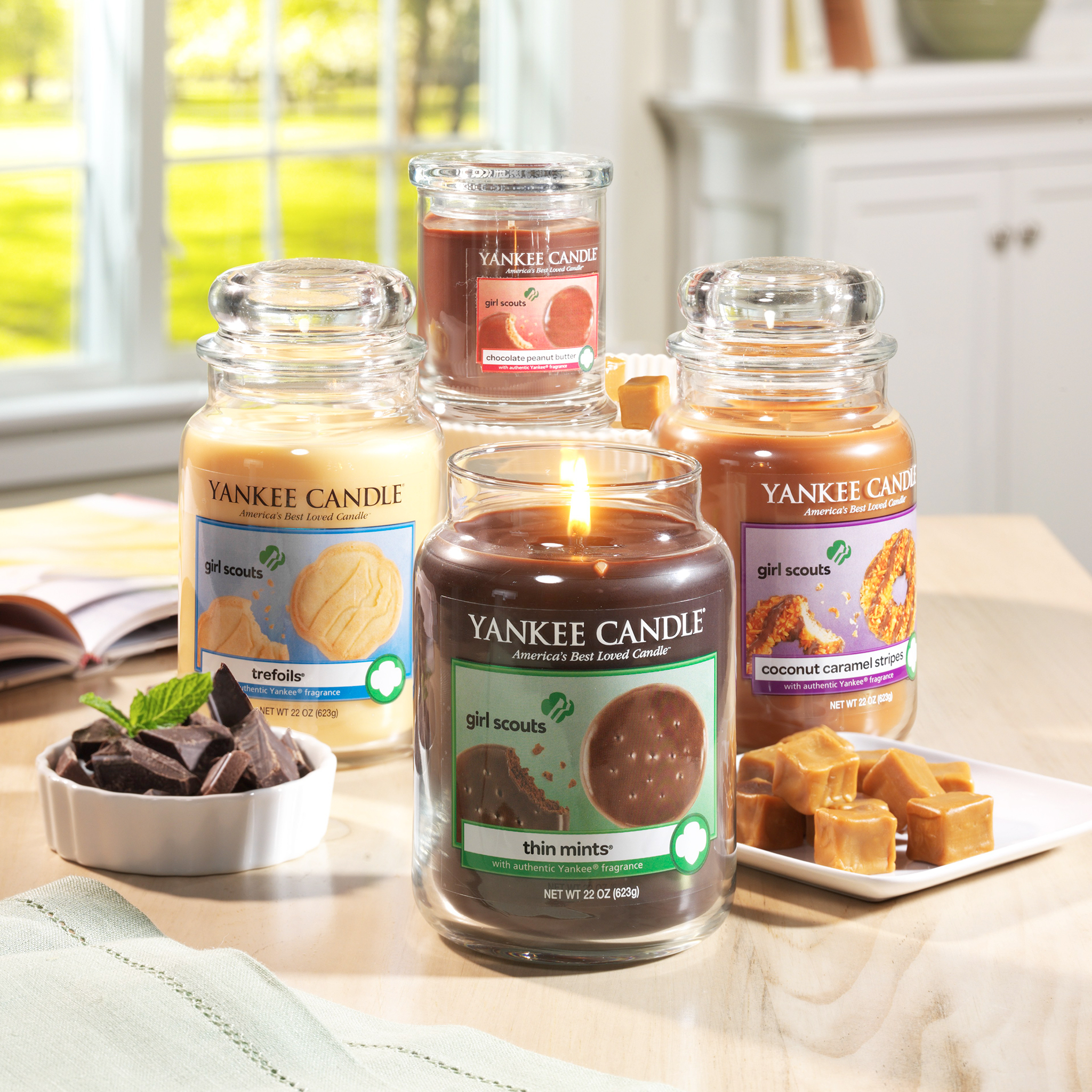 Yankee Candle Girl Scouts Collection