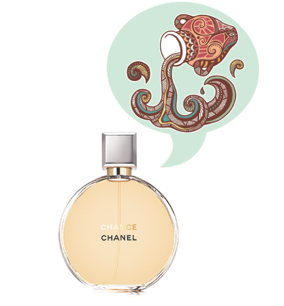 Aquarius Fragrance Horoscope - Chance by Chanel