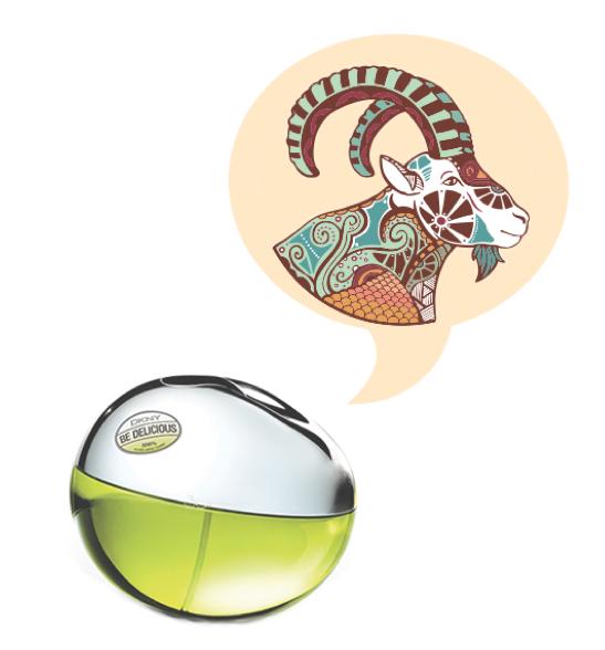 Capricorn Fragrance Horoscope - Donna Karan DKNY Be Delicious
