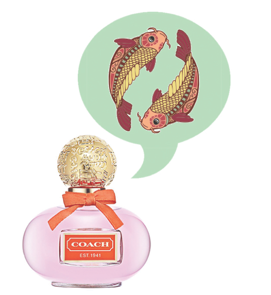 Pisces Fragrance Horoscope - Coach Poppy Flower