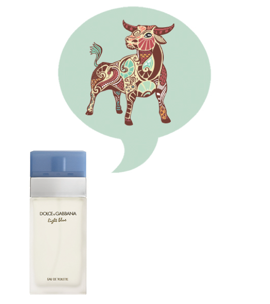 Taurus Fragrance Horoscope - Dolce Gabbana Light Blue
