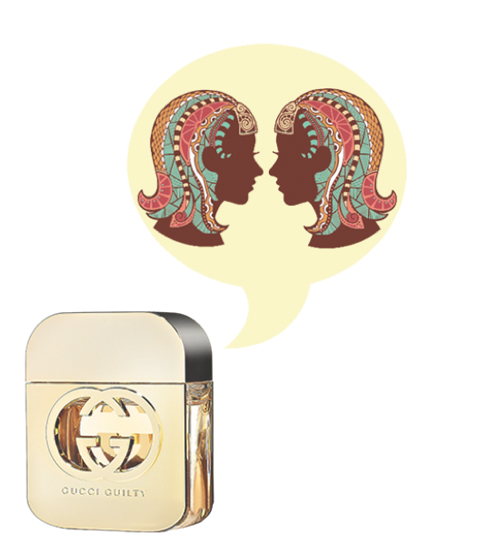 Gemini Fragrance Horoscope - Gucci Guilty