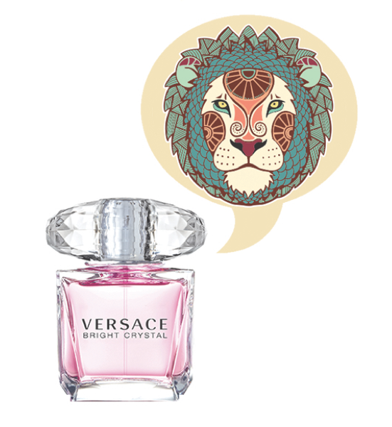 Leo Fragrance Horoscope - Versace Bright Crystal