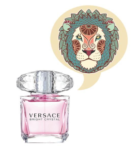 Leo Fragrance Horoscope - Versace Bright Crystal