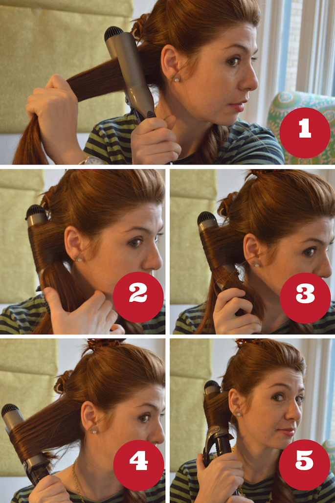 How to curl your own hair