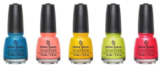china glaze road trip nail polish collection
