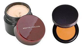 kevyn aucoin skin enhancer and laura mercier under eye perfector