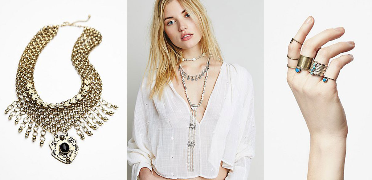 spring trend layered jewelry