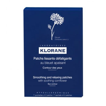 Klorane Soothing Patches Cornflower