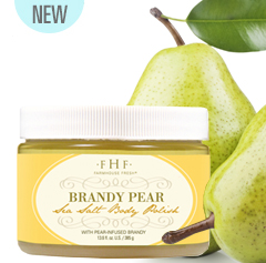Farmhouse Fresh Brandy Pear Sea Salt Body Polish
