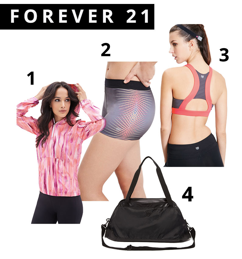 Forever 21 Active Wear, athletic gear, Sports, affordable sports wear