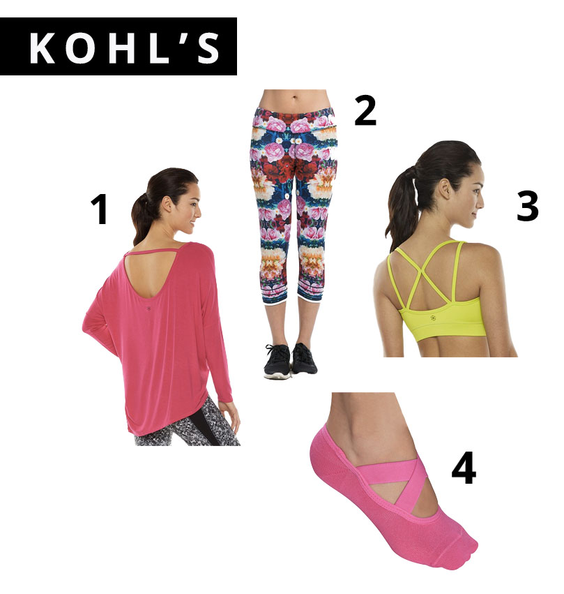 Kohl's Active Wear, athletic gear, Sports, affordable sports wear