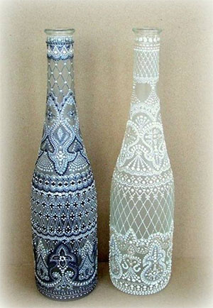 Decorate A Bottle Pleasing Diy Wine Bottle Decorations Design Ideas