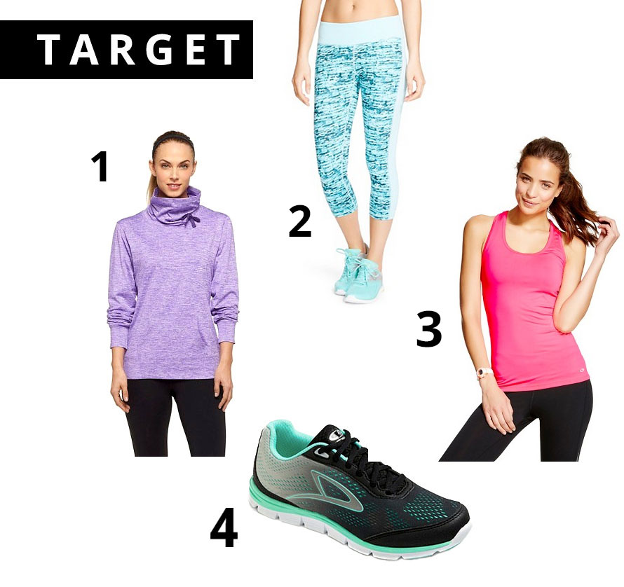 Target Activewear, C9, Affordable Activewear