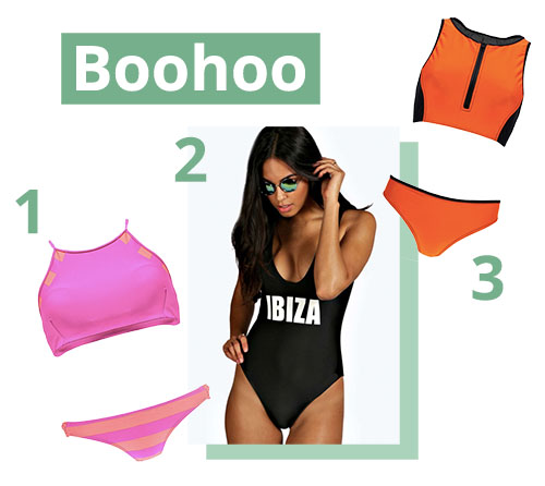 Boohoo swimwear
