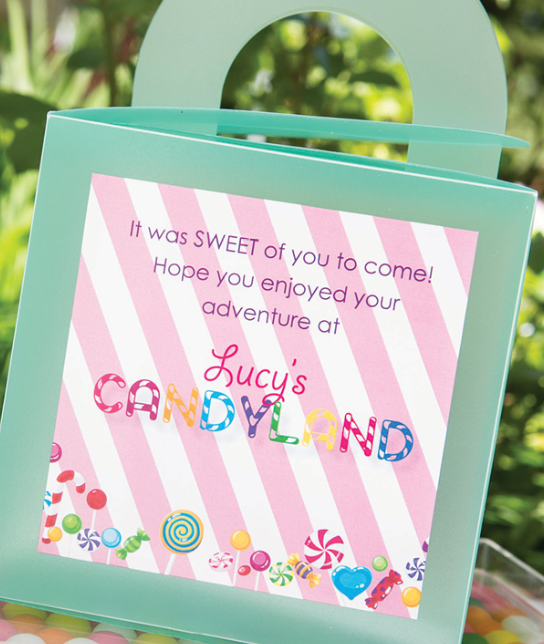 How to Throw a Candy Themed Party – Candy Themed Party Invitations