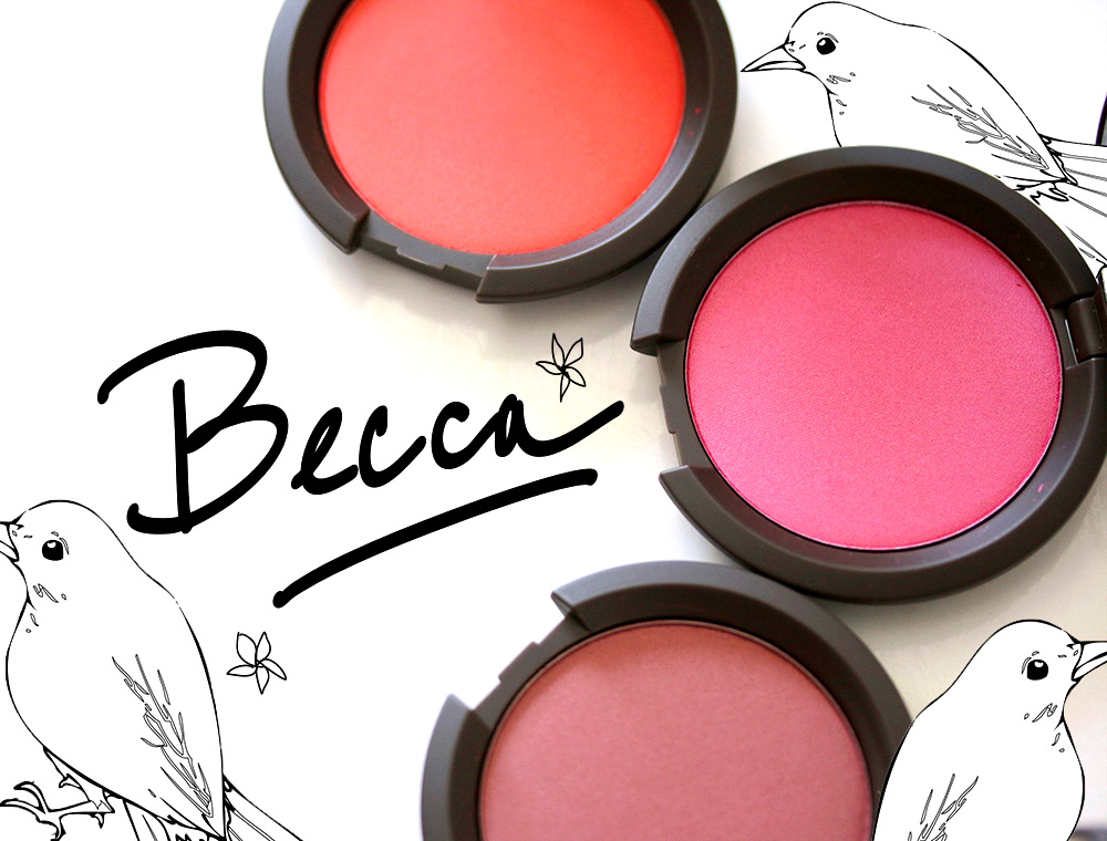 BECCA Mineral Blush New Shades
