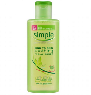 Simple Skincare Soothing Facial Toner