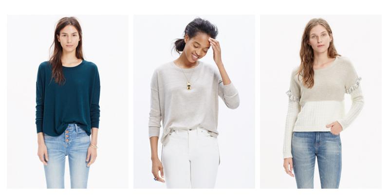 madewell sweaters
